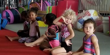 Preschool Gymnastics Class at Gymnastics Palace. Boys and Girls 3-5 years old.