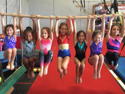 Summer Camp bars at Gymnastics Palace