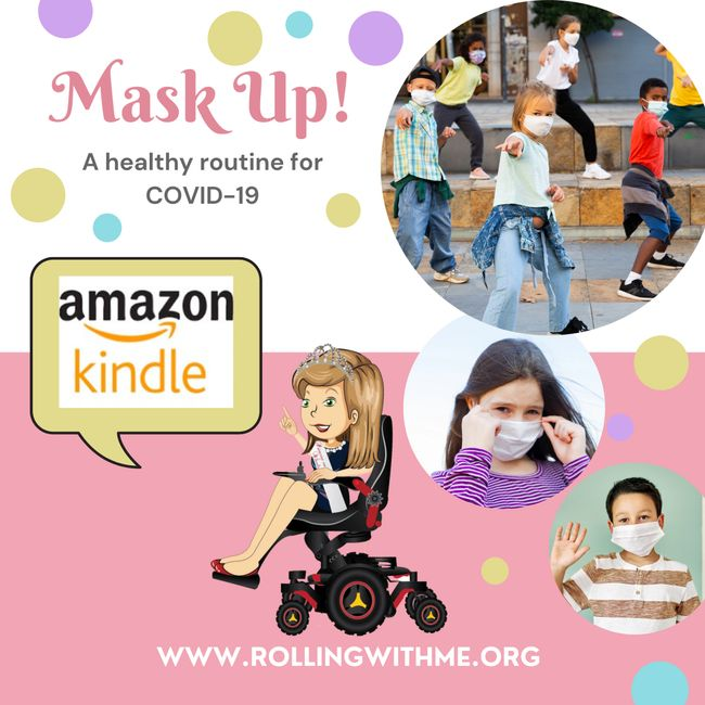 Mask Up! A healthy & safe routine for COVID-19.