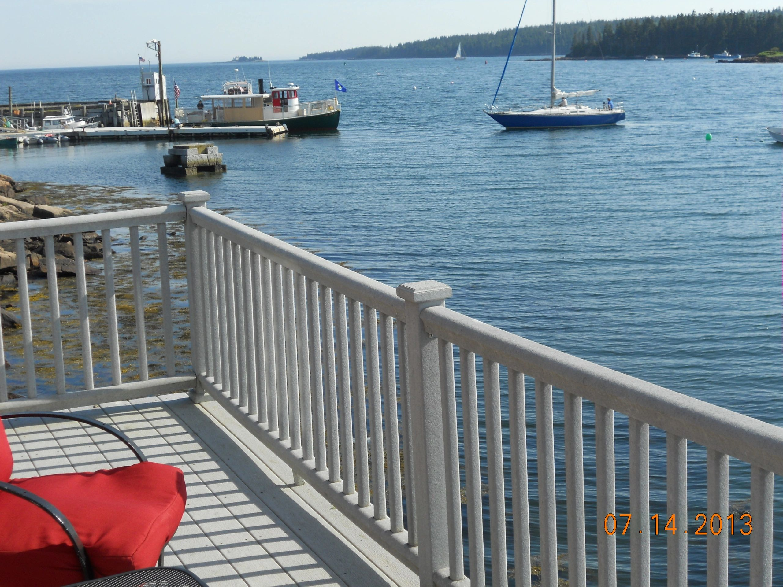 Boathouse Deck view