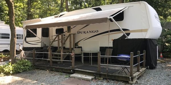 One of our rental campers