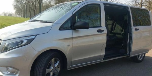 For larger parties we supply the Mercedes Vito which is ideal for extra luggage and golf clubs