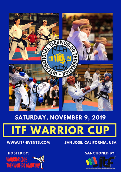 Poster for the ITF Warrior Cup
