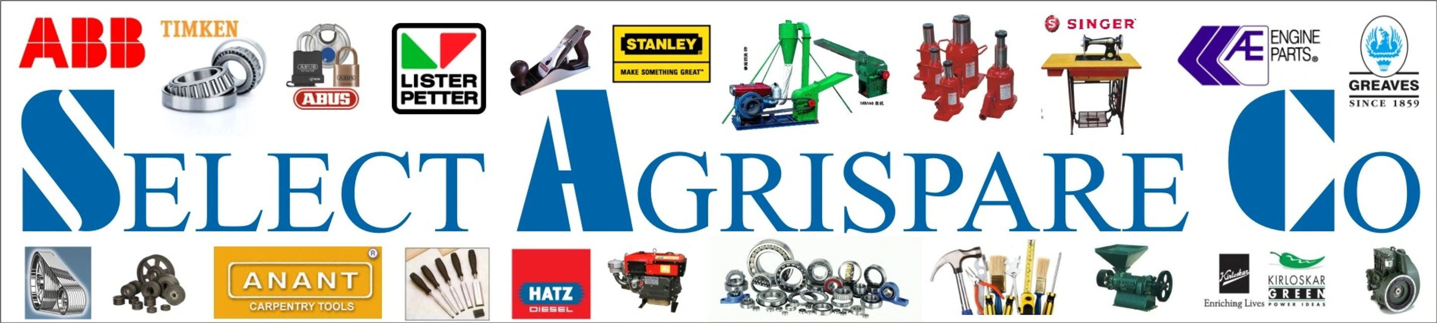 Select Agrispare Co Maize Mills  Diesel Engines Vee Belts Irrigation Pumps Sewing Machine Hardware