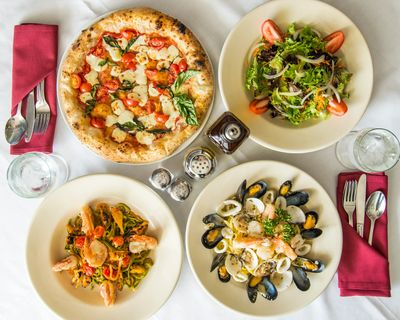Neapolitan Pizza, Pasta Verde, Salad and more