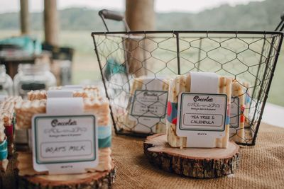 Handmade soaps by one of the vendors at Creekside Market!