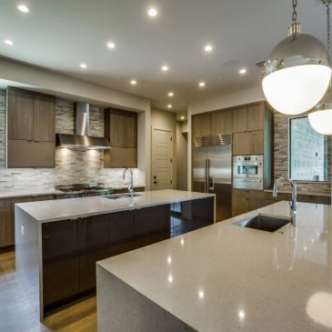 Lawnhaven residence kitchen