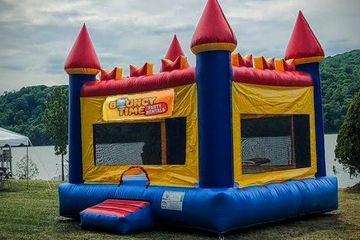 Castle Themed Bounce House Bounce House for kids party