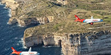 Airmalta on Maltese Islands