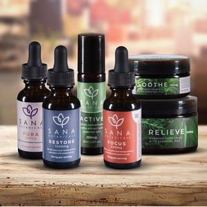 Full-Spectrum oils and salves with essences oils