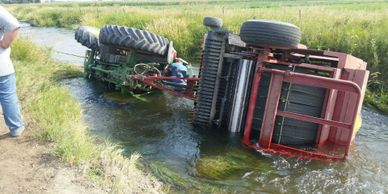 farm equipment towing service