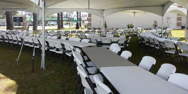 Table and chair rentals Bainbridge, GA Tables & Chairs Thomasville, GA Table rental chair rental