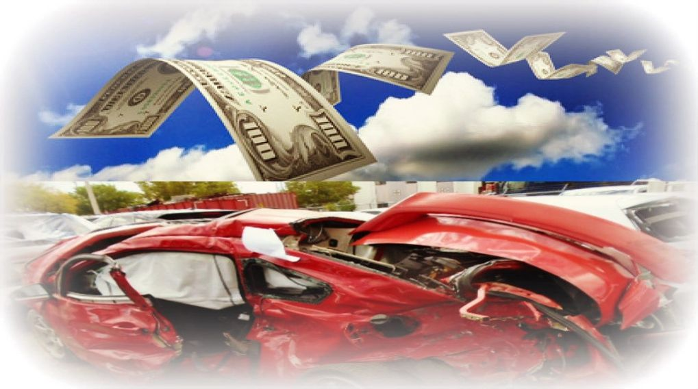 Auto appraisal, car crash, car value, money, diminished value
