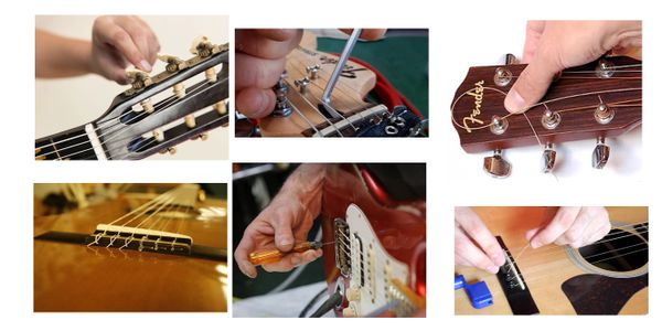 Guitar Repair Minor Repairs & Set-ups  Monday - Saturday 10:00 am - 4:00 pm Major Repairs upon appt