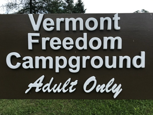 Vermont Freedom Adult Only Campground