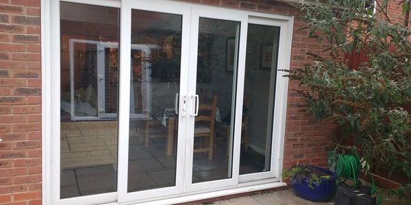 UPVC Sliding Door installed in Nottingham by our trained Mansfield fitters.