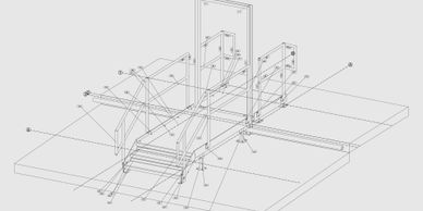 In-house fabrication drawings