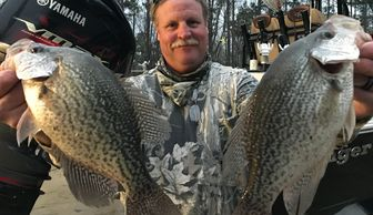 Big Crappie on Lake Oconee Fishing Guide Service. BigFishHeads Guide Service