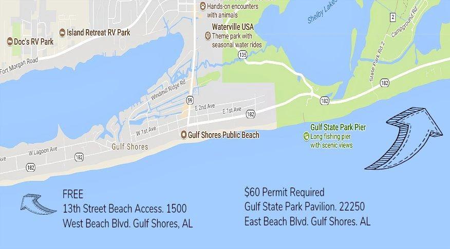 Gulf State Park Campground Map 16722 | TRENDNET