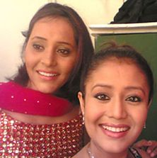 Neha Kakkar and Yashashree Bhave