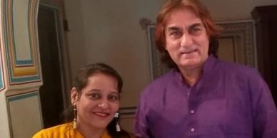 Nagpur: Ali Khan, bollywood actor is with Yashashree Bhave.