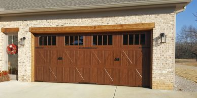 Amarr Classica Garage door installed by Bartlett Garage doors in Memphis, TN bartlettdoors.com