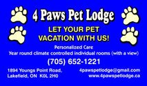 4 Paws Pet Lodge
