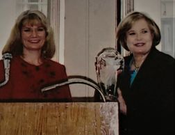 Sharon Percy Rockefeller, First Lady of West Virginia,  Catherine Miller Designs Custom Gifts
