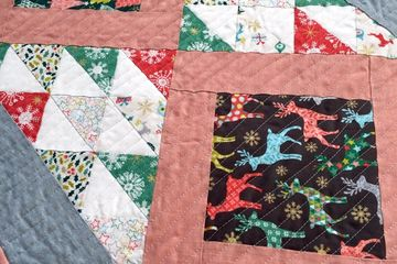 Sewmotion Christmas table runner kit and workshop