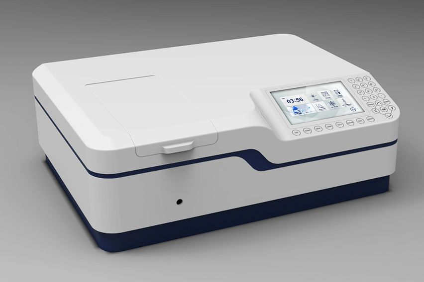 double beam uv/vis spectrophotometer, spectrophotometer with xenon lamp