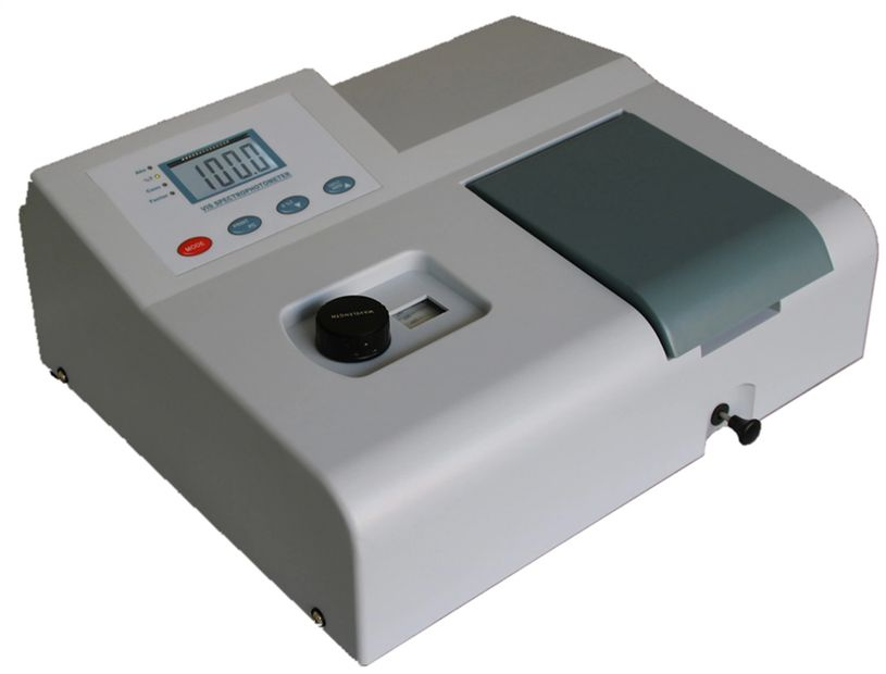 single beam visible spectrophotometer, teaching spectrophotometer, educational  spectrophotometer