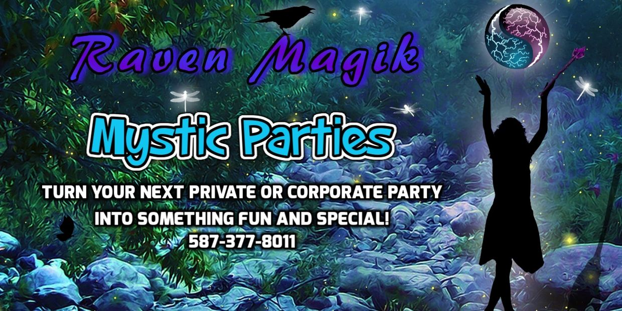 Mystic Parties, Reading Parties, Spiritual, Business, Fun, Tarot, Astrology