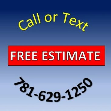 Call or text Two Guys and a Truck  Junk Removal for a free estimate 781-629-1250