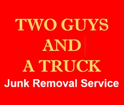 Two Guys and a Truck Junk Removal serving all areas north of Boston
