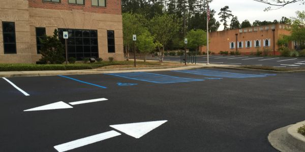 sealcoating and line striping