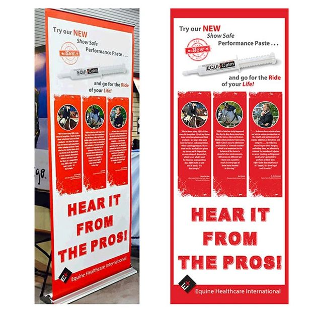 Retractable Banner, EHI