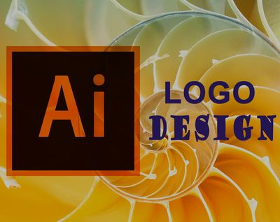 A symbolic prediction of logo design showing the Adobe Illustrator logo and a golden ratio curve