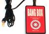 "Optional Bang Box attaches to LaserShooter and makes a ""Bang"" sound when you shoot!"