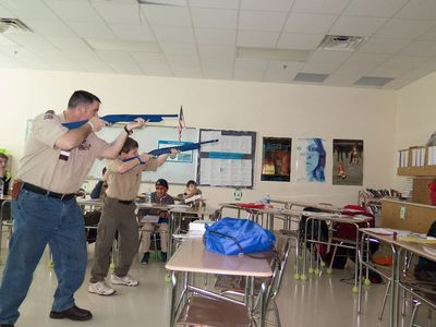 Training Boy Scouts Indoors with the Ultimate Practice Shooting System Results in Success on Range