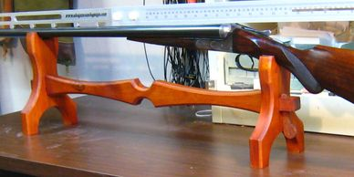 Wood Gun Rest