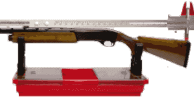 Plastic Gun Rest with Shotgun Combo Gauge with Extension