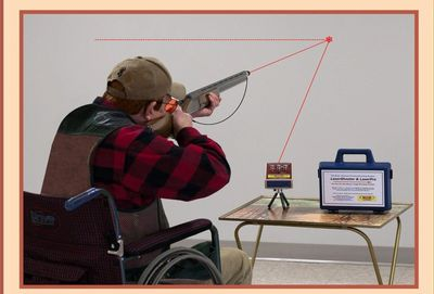 People who love to shoot but are handicapped or recovering from surgery can use our practice system.
