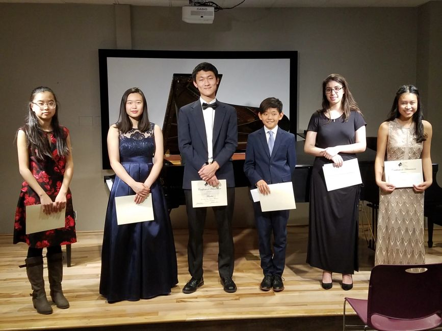 Concerto Competition Winners 2018