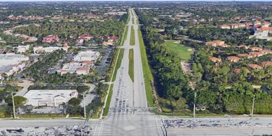 Image of Airport Road Bird's eye view