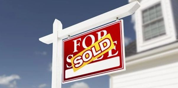 For Sold Image of a Sign