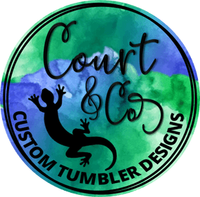 Court & Co Custom Tumbler Designs