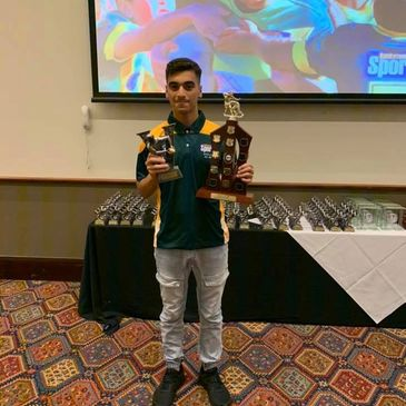 INTERNATIONAL PLAYER OF THE YEAR  Louay Suleiman 13 Silver