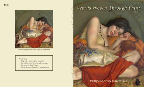 Words Woven Through Paint art and poetry book
