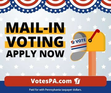 Mail in Voting Apply Now