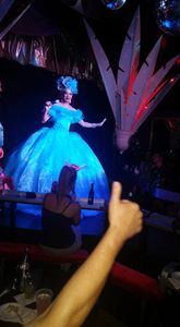 World famous drag queen sushi performs at 801 cabaret on Duval Street in Key West.